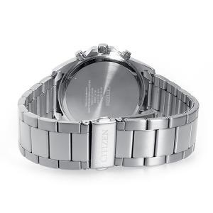 シチズン 腕時計 メンズ CITIZEN クロノグラフ ブラック/シルバー vol8 03