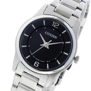 シチズン 腕時計 レディース CITIZEN ブラック/シルバー|vol8