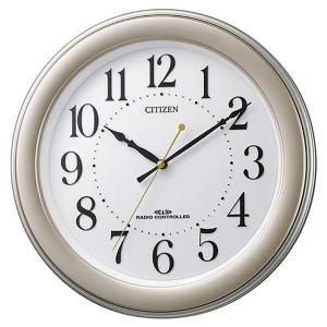 シチズン 掛け時計 かけ時計 メンズ&レディース スタンダード CITIZEN 電波 ホワイト|vol8