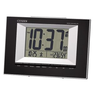 シチズン 掛け時計 かけ時計 メンズ&レディース CITIZEN 電波 ブラック|vol8