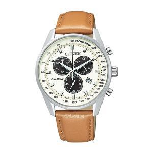 シチズン 腕時計 メンズ シチズンコレクション CITIZEN クロノグラフ レザー vol8
