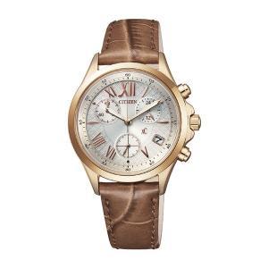 シチズン 腕時計 レディース クロスシー XC CITIZEN クロノグラフ レザー|vol8