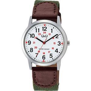 シチズン 腕時計 メンズ Q&Q CITIZEN ブラウン/ホワイト|vol8