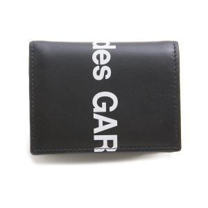 コムデギャルソン 二つ折り財布 メンズ&レディース COMME des GARCONS ブラック|vol8