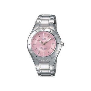 カシオ 腕時計 レディース スタンダード CASIO ピンク/シルバー|vol8