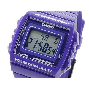 カシオ 腕時計 メンズ CASIO デジタル パープル|vol8