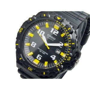 カシオ 腕時計 メンズ スポーツ CASIO アナログ ソーラー ブラック|vol8