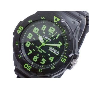 カシオ 腕時計 メンズ ダイバールック CASIO ブラック/グリーン/ブラック|vol8