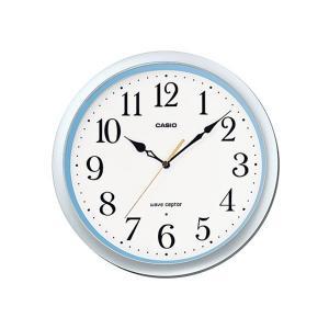カシオ 掛け時計 かけ時計 メンズ&レディース CASIO ホワイト/シルバー/ブルー|vol8