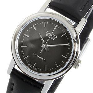 カシオ 腕時計 レディース CASIO レザー ブラック|vol8