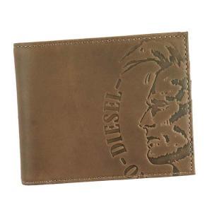 ディーゼル 二つ折り財布 レディース&メンズ HIRESH S DIESEL ダークブラウン|vol8