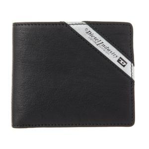 ディーゼル 二つ折り財布 メンズ DIESEL レザー Black/Dark Acciaio|vol8