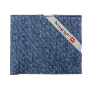 ディーゼル 二つ折り財布 メンズ DIESEL デニム Black/Blue Denim|vol8