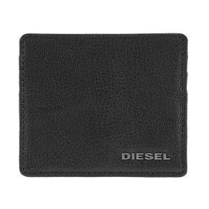 ディーゼル パスケース 定期入れ カードケース メンズ DIESEL レザー ブラック|vol8