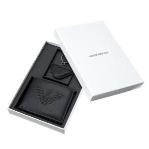 エンポリオアルマーニ 二つ折り財布キーホルダーセット メンズ EMPORIO ARMANI|vol8