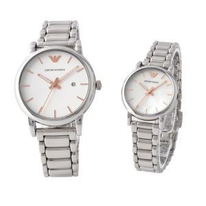 エンポリオアルマーニ ペア腕時計 メンズ&レディース...