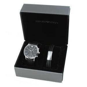 エンポリオアルマーニ 腕時計&ブレスレットセット ギ...