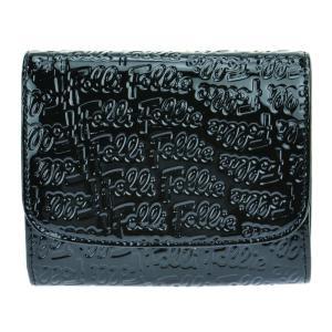 フォリフォリ 二つ折り財布 レディース Folli Follie ブラック|vol8