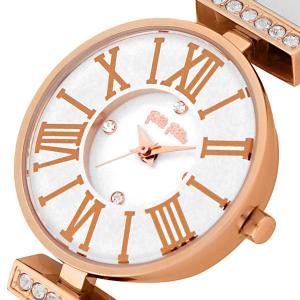 フォリフォリ 腕時計 レディース ミニ ダイナスティ Folli Follie レザー ホワイト|vol8