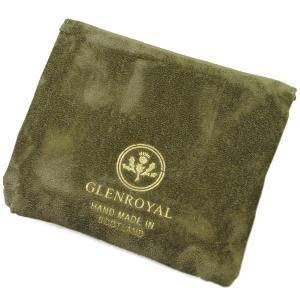 グレンロイヤル 二つ折り財布 メンズ GLENROYAL レザー ブラック|vol8|03