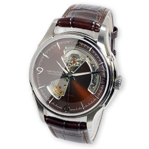 ハミルトン 腕時計 メンズ ジャズマスター オープンハート HAMILTON 自動巻き レザー|vol8