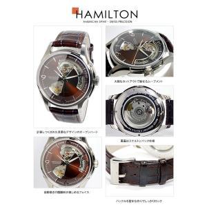 ハミルトン 腕時計 メンズ ジャズマスター オープンハート HAMILTON 自動巻き レザー|vol8|04