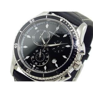 ハミルトン 腕時計 メンズ ジャズマスター シービュー HAMILTON クロノグラフ ブラック|vol8