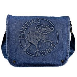 ハンティングワールド ショルダーバッグ メンズ&レディース HUNTING WORLD ブルー|vol8
