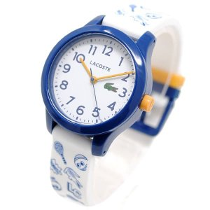ラコステ 腕時計 レディース Lacoste アナログ ホワイト/ホワイト&ブルー vol8