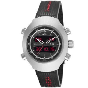 オメガ 腕時計 メンズ スピードマスター OMEGA デジタル ブラック vol8