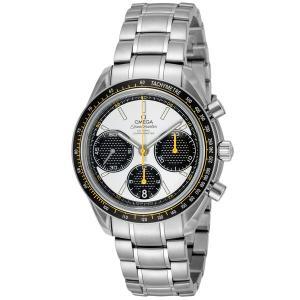 オメガ 腕時計 メンズ スピードマスター コーアクシャル OMEGA 自動巻き ホワイト|vol8