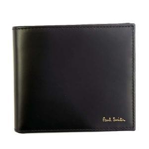 ポールスミス 二つ折り財布 メンズ PaulSmith ブラック|vol8