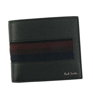 ポールスミス 二つ折り財布 メンズ BILLFOLD WALLET PaulSmith BK|vol8
