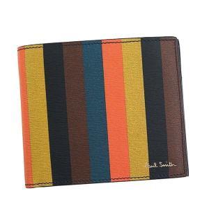 ポールスミス 二つ折り財布 メンズ BIFOLD PaulSmith レザー|vol8