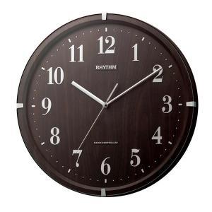 リズム 掛け時計 かけ時計 メンズ&レディース RHYTHM 丸型 電波|vol8
