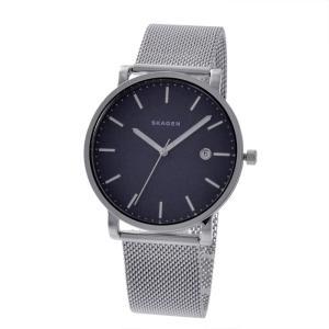 スカーゲン 腕時計 メンズ SKAGEN ミニマル シンプル ネイビー/シルバー|vol8