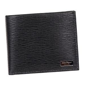 サルヴァトーレフェラガモ 二つ折り財布 メンズ SalvatoreFerragamo BK|vol8
