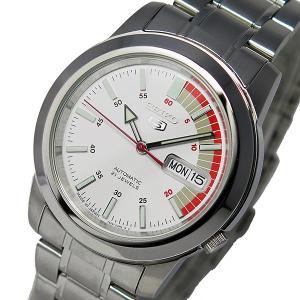 セイコー 腕時計 レディース セイコー5 SEIKO5 SEIKO 自動巻き ホワイト|vol8