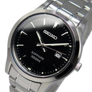 セイコー 腕時計 レディース SEIKO 100m防水 ブラック|vol8