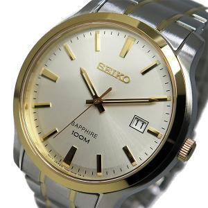 セイコー 腕時計 メンズ SEIKO 100m防水 シルバー|vol8