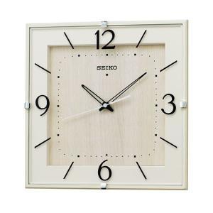 セイコー 掛け時計 かけ時計 メンズ&レディース 電波 SEIKO 電波 アイボリー|vol8