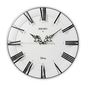 セイコー 掛け時計 かけ時計 キッズ&ジュニア ミッキーマウス ミニーマウス SEIKO ホワイト|vol8