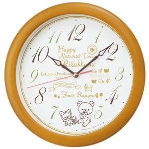 セイコー 掛け時計 かけ時計 メンズ&レディース リラックマ SEIKO ホワイト|vol8