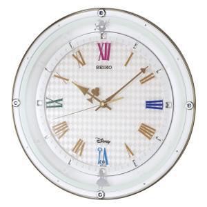 セイコー 掛け時計 かけ時計 キッズ&ジュニア ディズニー SEIKO ホワイトパール|vol8