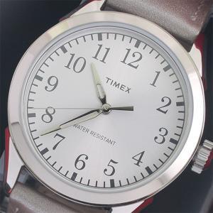 タイメックス 腕時計 レディース TIMEX レザー シルバー|vol8
