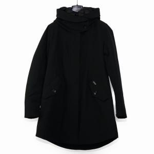 ウールリッチ ダウンジャケット レディース WOOLRICH フード Lサイズ ブラック|vol8