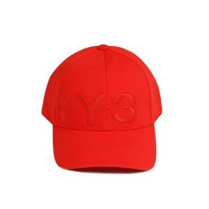 ワイスリー ベースボールキャップ 野球帽子 メンズ&レディース Y-3 ロゴ レッド|vol8