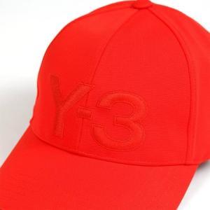 ワイスリー ベースボールキャップ 野球帽子 メンズ&レディース Y-3 ロゴ レッド|vol8|02