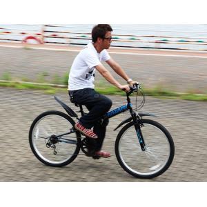 折りたたみ自転車 マウンテンバイク 26インチ...の詳細画像4