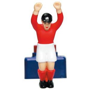 ティップキック用 ゴールキーパー (赤色) サッカーゲーム テーブルゲーム ドイツのおもちゃ|volksmarkt